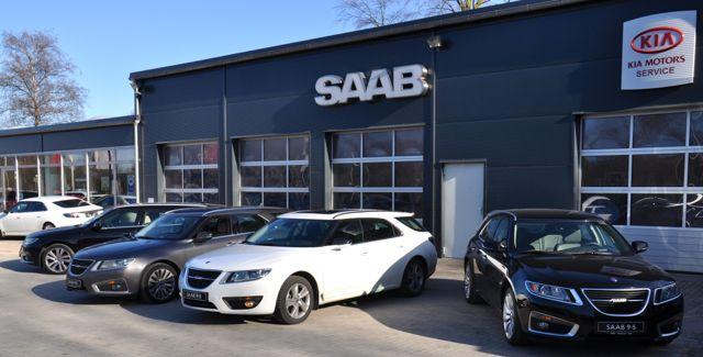 Saab 9-5 II deportes en Kiel