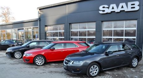 Rechtslenker, Sportkombi aus Tschechien und Saab 9-5 Sportkombi von Lafrentz