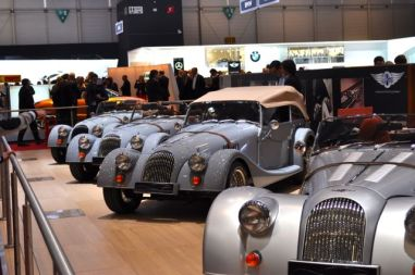 Morgan: traditional brand from England
