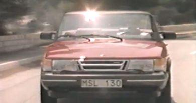 Saab 900 Cabriolet. Dia Ordinário de 1987.