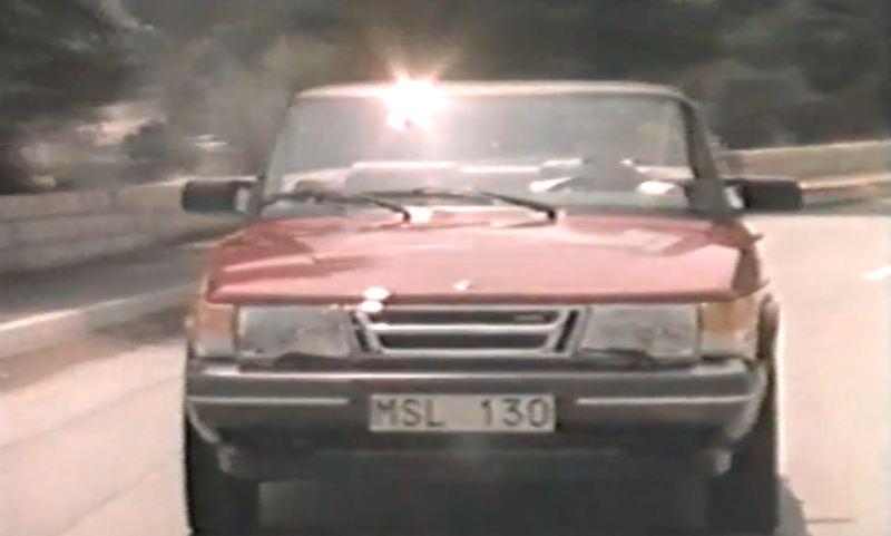 Saab 900 Cabriolet. Día Ordinario de 1987.