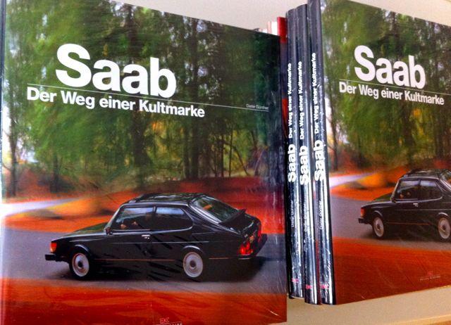 Novo livro Saab: o caminho de uma marca de culto