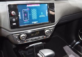 Touchscrenn mit iPhone Integration