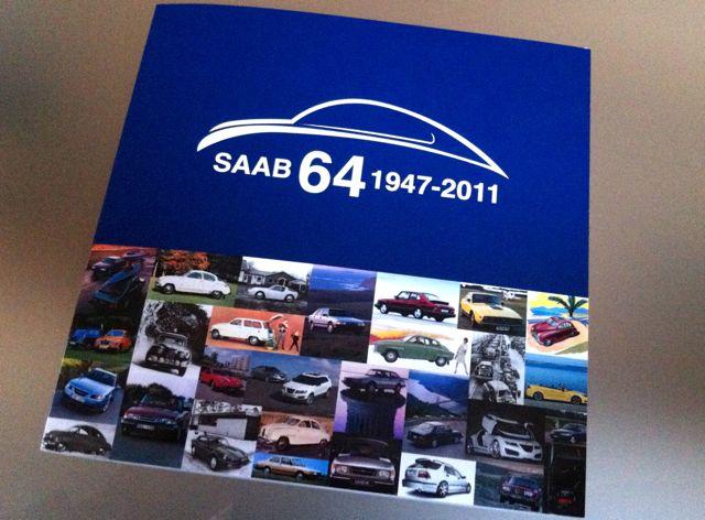 Saab 64 1947-2011. Eine bunte Zeitreise durch die Markengeschichte