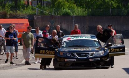 Saab 9-3 by Team Tido