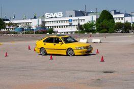 Saab 9-3 no curso