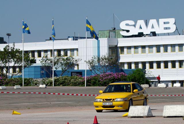 Saab Werk mit 9-3 Viggen. Neustart 2013?