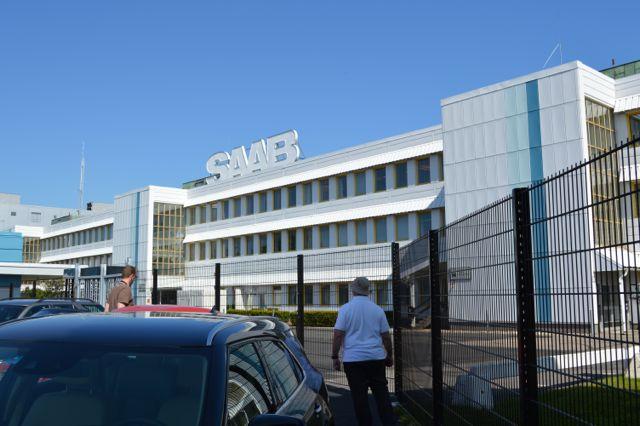 Fabbrica di Saab - nuova recinzione