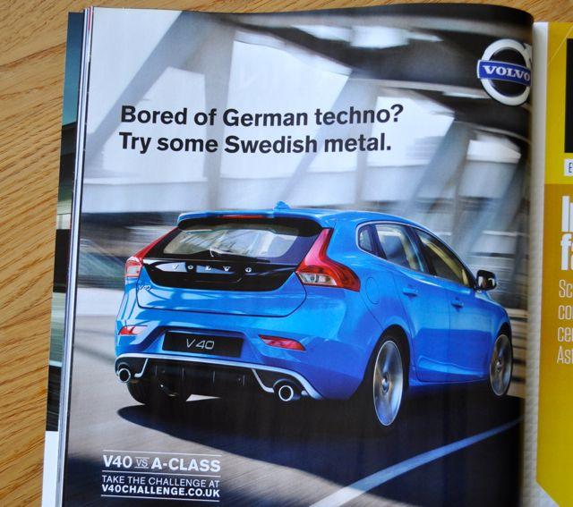 Volvo: German techno vs Swedish Metal