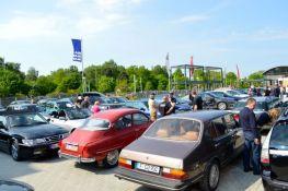 Saab Service Kiel, estacionamento completo