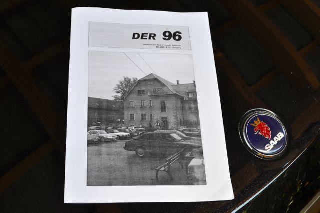 Der 96. Saab Infoblatt der Saab Freunde Erftkreis.