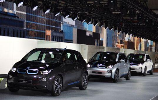Visita BMW i3 en la sala de exposiciones