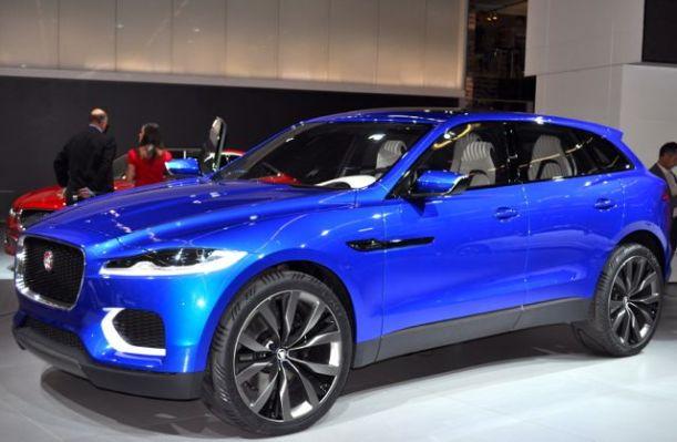 Jaguar C-X17. Der erste, moegliche SUV der Marke.