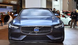Nuovi elementi di design, anteriore Volvo Concept Coupe