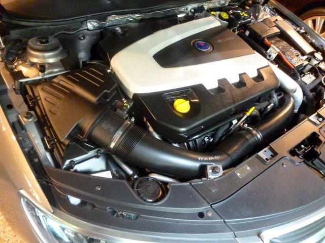 Das ist er: Saab 9-5 II, V6 Diesel von VM Motori