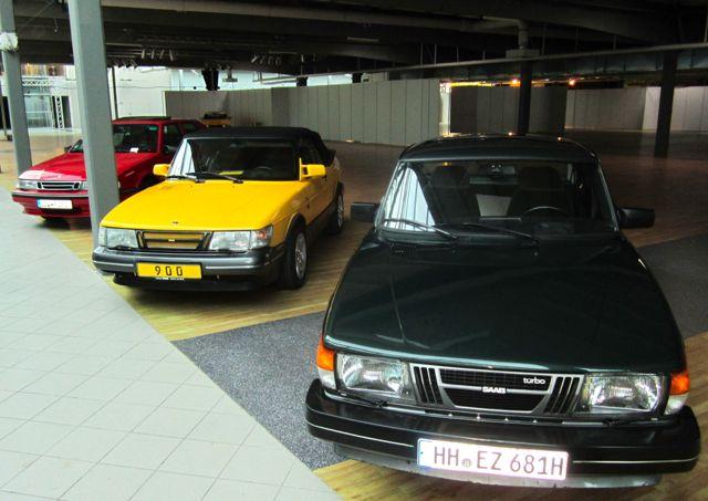 Nordi Car Classic - de första Saabarna finns redan på plats