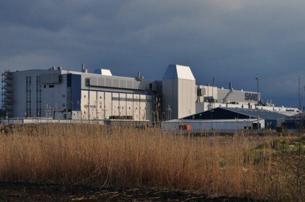 Saab-anläggningen Trollhattan