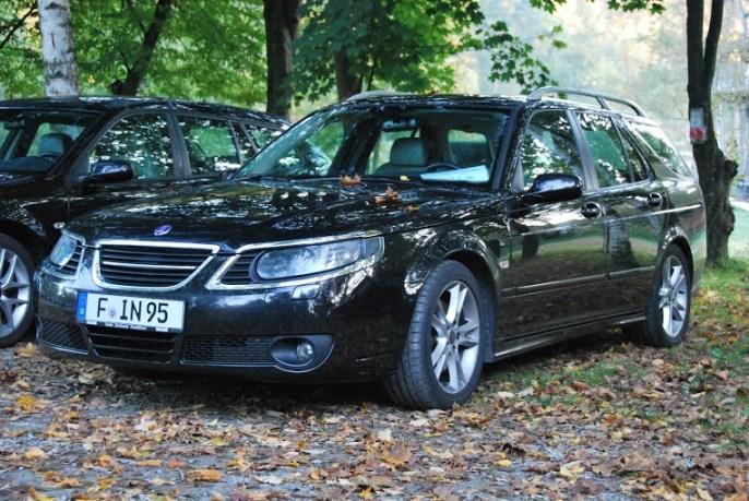 Saab reunião Floresta da Baviera 2013. O 9-5 por Wolfgang ...