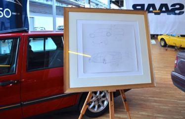 Projeto Bajern Envall Saab no Nordi Car Classic
