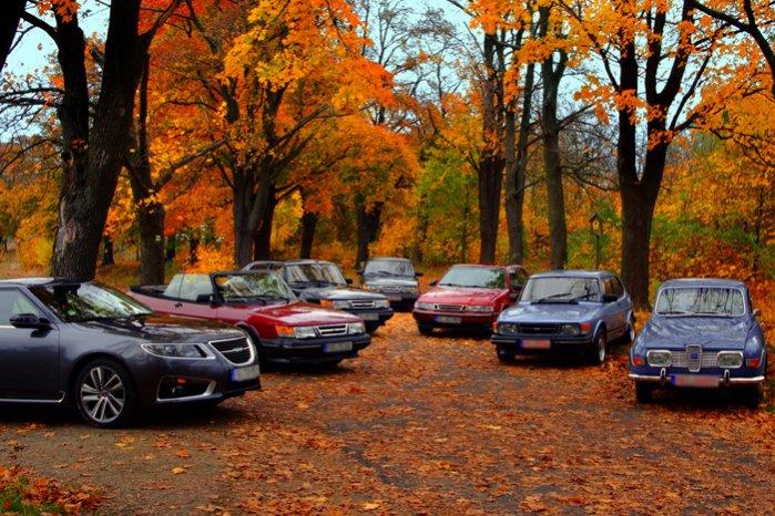 Saab Cars calendar color