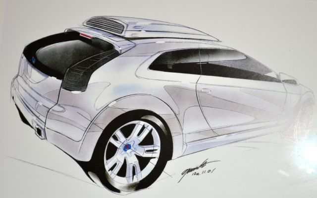 Saab design from .....