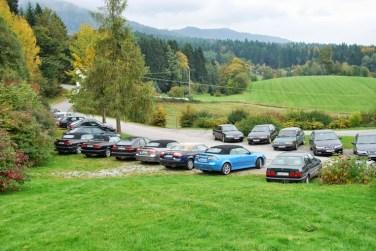 Tolle Autos, tolle Landschaft