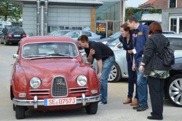 Hubert e seu Saab 96