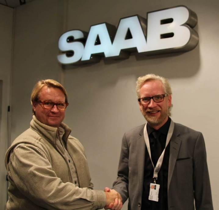 Lennart Fahlgren und Jonas Hernqvist, Sales und Marketing Director