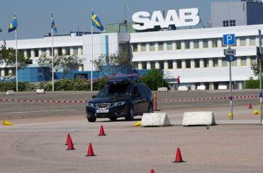 Parcours na fábrica de Saab