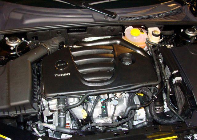 Saab 9-3 Aero motorrum
