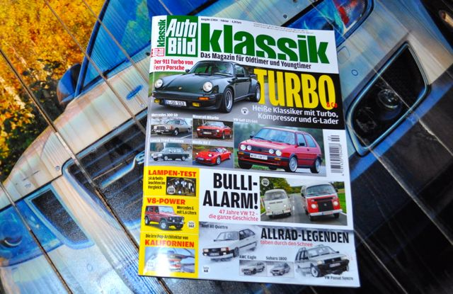 Autobild Klassik - Februar Ausgabe