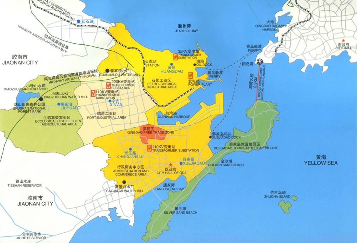 Qingdao ekonomiska utvecklingszonen