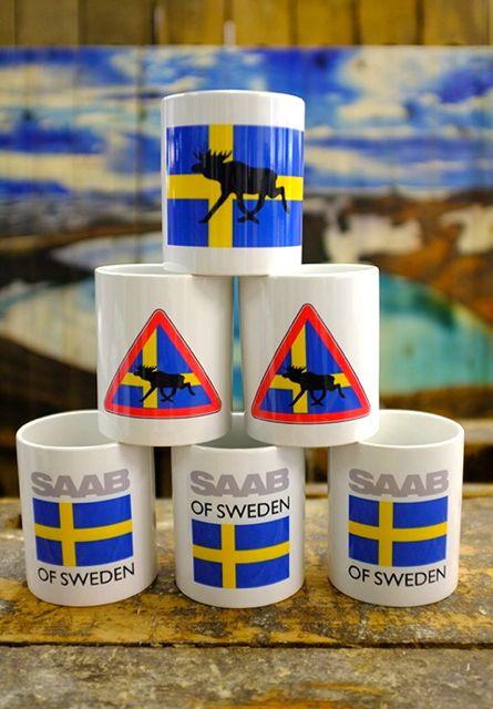 SAAB of Sweden Tassen