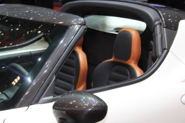 Alfa Romeo 4C Spider ou Targa @ 2014 saabblog.net