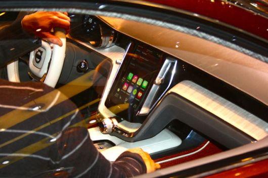 Apple CarPlay, presto in ogni nuova Volvo. © 2014 saabblog.net