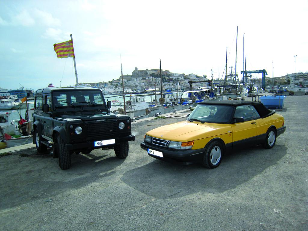 Saab 900 Monte Carlo Cabriolet © 2014 Ibiza idag