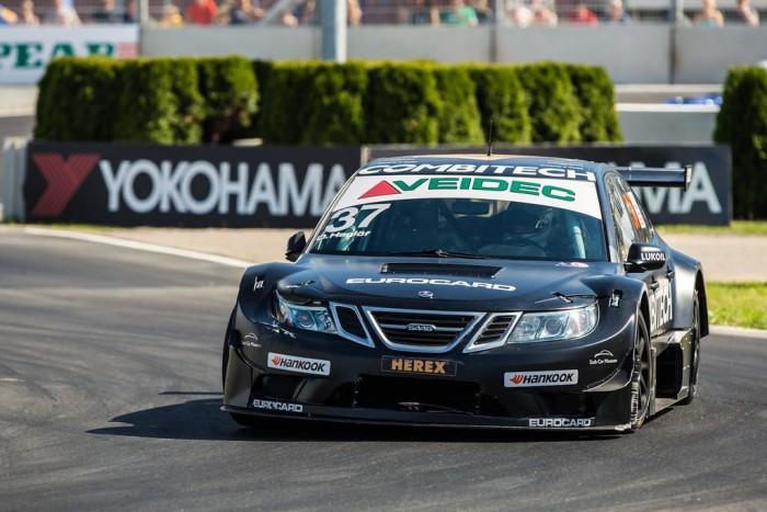 SAAB 9-3 van het PWR Racing Team