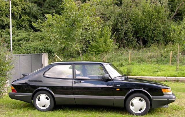 Saab 900 S 1992, then state of the art. @ 2014 saabblog.net
