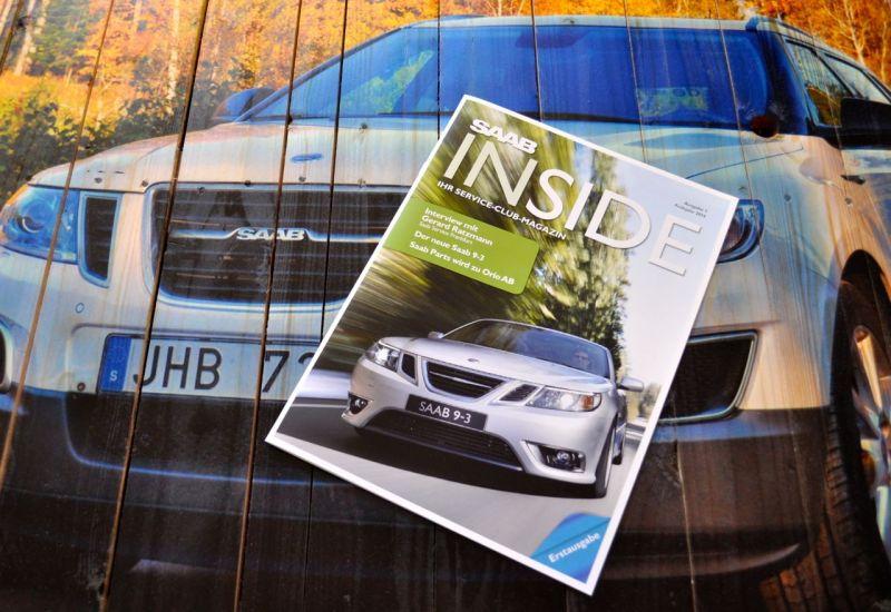 Saab Inside, den exklusiva utgåvan. @ 2014 saabblog.net