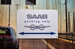 Saab Estacionamento somente @2014 saabblog.net