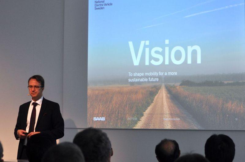 Mattias Bergman, NEVS CEO @ 2014 saabblog.net