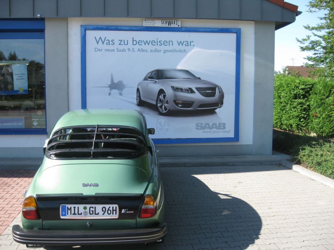 Which Saab is less common? © 2014 Uli Beitel