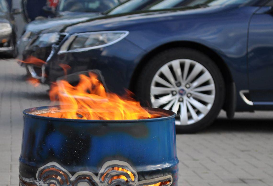 Saab Spirit - Mantenha o fogo queimando © 2014 saabblog.net