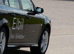 السيارات الكهربائية من Trollhattan © 2014 NEVS