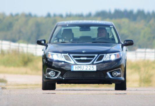 Saab 9-3 EV-prototyp © 2014 NEVS