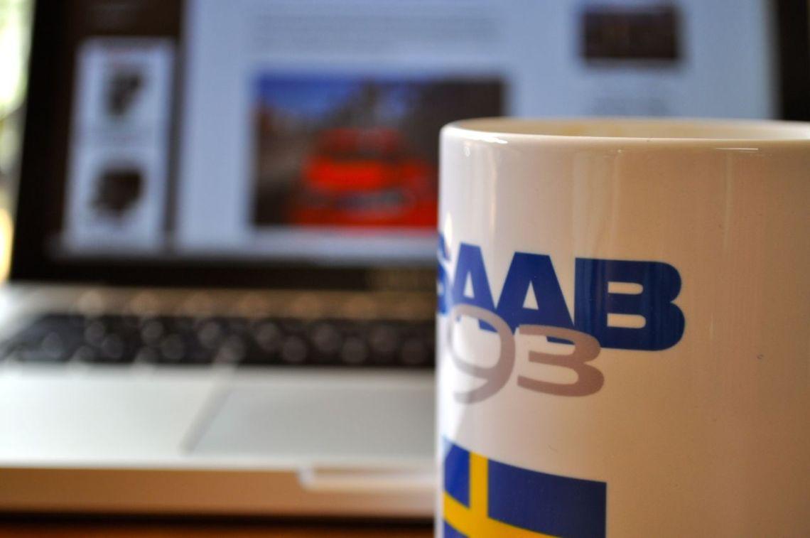 Kaffe och Saab blogg. Fortfarande säkrad?