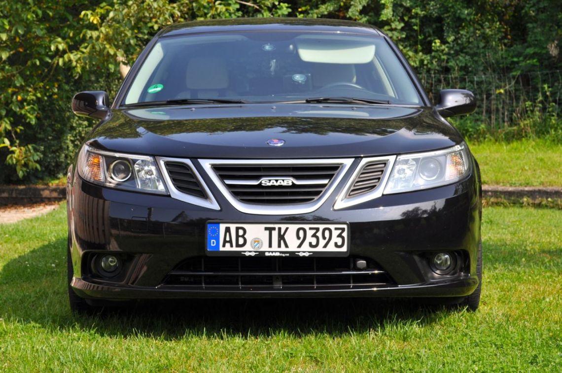 Saab 9 3 1.8t, MY 2011, Griffin Grill. © 2014 saabblog.net