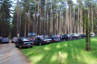 ...SAAB Parking only.
