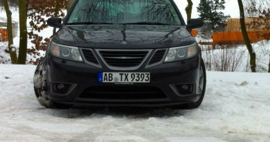 Turbo X in winter, natural environment