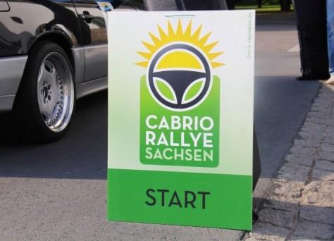 Convertible Rally Saxony 2014 ... vlak voor de start